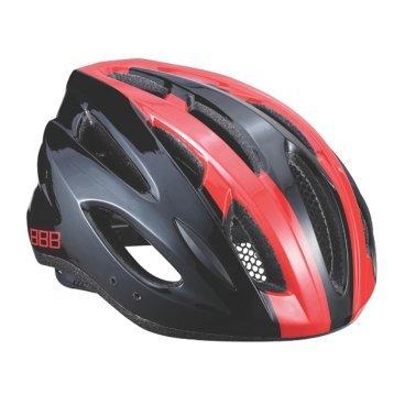 цены Велошлем BBB Condor, шоссе/МТБ, красный/черный, L (58-61,5 см), BHE-35