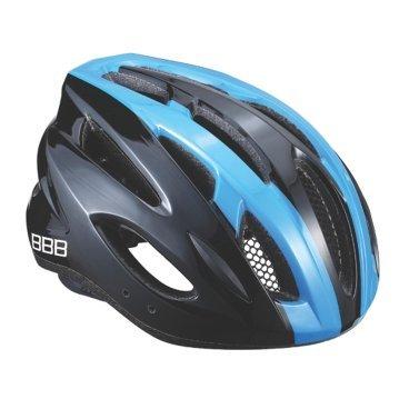 Велошлем BBB Condor, шоссе/МТБ, черный/синий, M (54-58 см), BHE-35