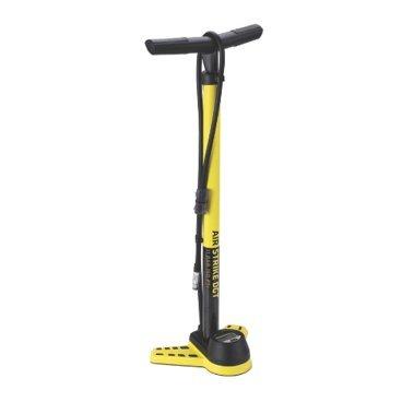 Насос велосипедный BBB AirStrike DGT, напольный, сталь, желтый, BFP-26 домкрат kraft кт 800026