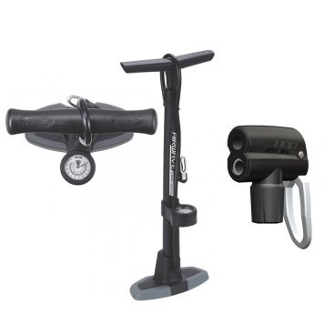 Насос велосипедный BBB floorpump Airwave, напольный, пластик, черный/серый, BFP-00