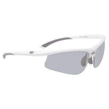 Очки BBB Winner PC, зеркальные линзы, мешочек, белые, BSG-39