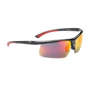Очки BBB Winner PC, желтые линзы, мешочек, черные, BSG-39 спортивные очки вело кс