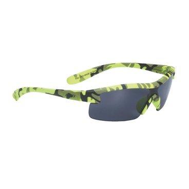 Очки BBB Kids PC, детские, дымные линзы, мешочек, неоново-желтые, BSG-54Велоочки<br>Специальные детские очки небольшого размера.<br><br>Особенности:<br><br>- Прочная монолитная оправа из поликарбоната.<br>- Округлая форма линз обеспечивает защиту от солнца, пыли и ветра.<br>- 100% защита от ультрафиолета.<br>- Мешочек для хранения в комплекте.<br>