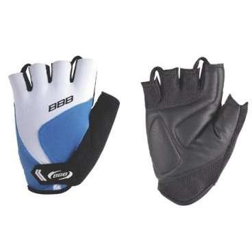 Перчатки велосипедные BBB Classic, унисекс, размер M, вентеляция, синие, BBW-42Велоперчатки<br>Прекрасные летние перчатки благодаря сочетанию сетки и спандекса.<br>Ладонь Clarino с вентиляцией AirMesh.<br>Липучка на запястье.<br>Махровое покрытие вытереть пот.<br>Петли между пальцами для легкого снятия перчаток.<br>