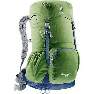 Велосипедный рюкзак Deuter Zugspitze, с чехлом, 58x28x21, 24 л, зеленый, 3430116_2312