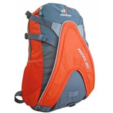 Велосипедный рюкзак Deuter Winx 20 , с чехлом, 50x26x20, 20 л, оранжевый, 42604_4904