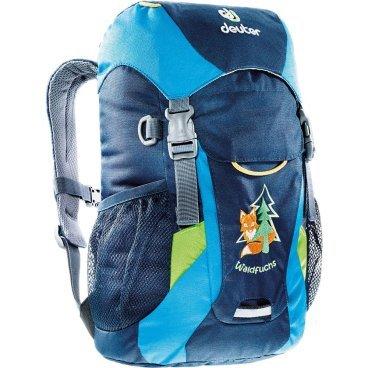 Велосипедный рюкзак Deuter Waldfuchs, детский, 35x25x15, 10 л, синий, 3610015_3306