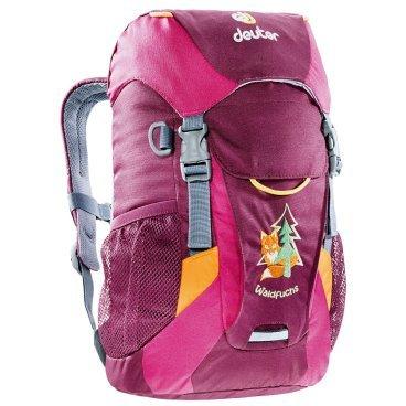 Велосипедный рюкзак Deuter Waldfuchs, детский, 35x25x15, 10 л, розовый, 3610015_5053