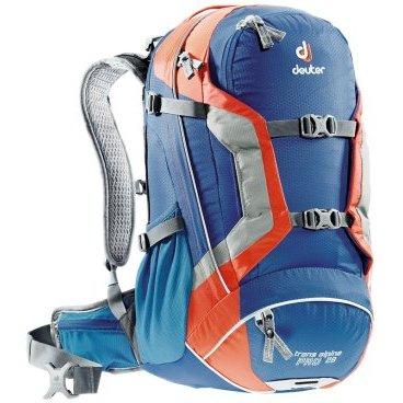 Велосипедный рюкзак Deuter Trans Alpine Pro 28, с чехлом, 54x30x20, 28 л, синий, 32263_3905