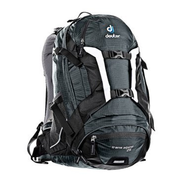 Велосипедный рюкзак Deuter Trans Alpine 25, с чехлом, 48x32x22, 25 л, черный, 32203_4700