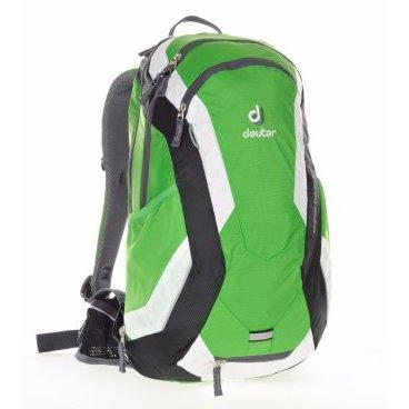 Велосипедный рюкзак Deuter Superbike 18 EXP, с чехлом, 51x31x16, 18+4 л, зеленый, 32114_2704 велорюкзак deuter superbike 18 exp spring black 32114 2704