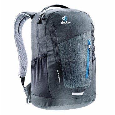 Велосипедный рюкзак Deuter StepOut 16, отделение для документов, 45x26x16, 16 л, черный, 3810315_771 рюкзак deuter 2015 smu winx 20 granite papaya 42604 4904 000 00