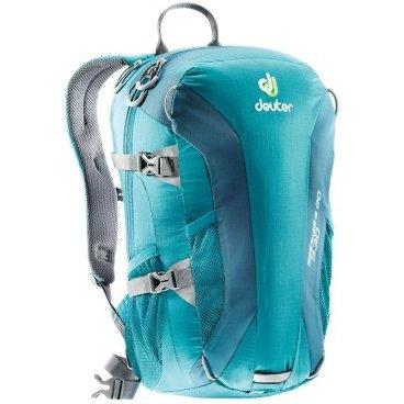 Велосипедный рюкзак Deuter Speed lite 20, усиленное дно, 48x26x18, 20 л, голубой, 33121_3325