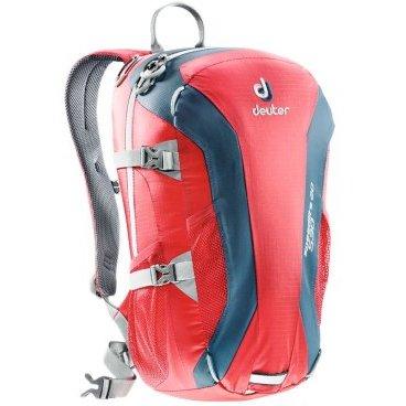 Велосипедный рюкзак Deuter Speed lite 20, усиленное дно, 48x26x18, 20 л, красный, 33121_5306
