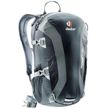Велосипедный рюкзак Deuter Speed lite 20, усиленное дно, 48x26x18, 20 л, черный, 33121_7410