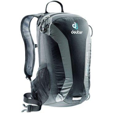 Велосипедный рюкзак Deuter Speed lite 10, усиленное дно, 40x23x13, 10 л, черный, 33101_7410