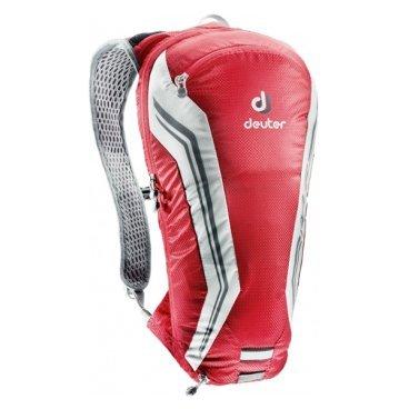 Велосипедный рюкзак Deuter Road One, с чехлом, 44х22х10, 5 л, красный, 32274_5350