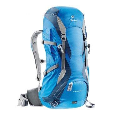 Велорюкзак Deuter Futura 26, отделение для мокрой одежды, 60х34х22, 26 л, голубой, 34234_3033