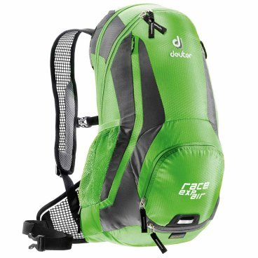 Рюкзак Deuter Race EXP Air, с чехлом, 47х28х15, 12 л, зеленый, 32133_2431 deuter giga blackberry dresscode