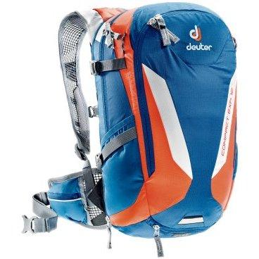 Рюкзак Deuter Compact EXP 12, с чехлом, 4824х18, 12+2 л, синий, 3200215_3905