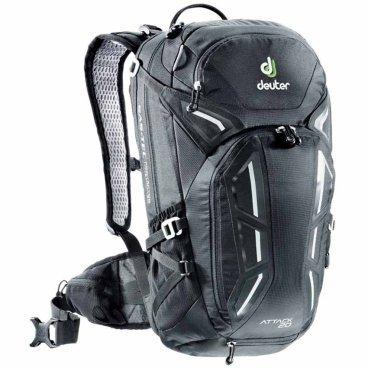 Рюкзак Deuter Attack 20, защита спины, 56х28х20, 20 л, черный, 3200216_7000