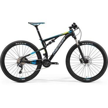 Двухподвесный велосипед Merida Ninety-Six 7.600 2017 от vamvelosiped.ru