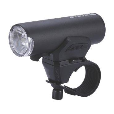 Фонарь передний BBB Scout, белый, светодиодный, подзарядка по USB, 4 режима, BLS-115Фары и фонари для велосипеда<br>Scout - это идеальный товарищ для вашего городского, или туристического велосипеда. Он очень компактный и лёгкий, с мощным световым потоком и четырьмя режимами работы. Этот фонарь можно устанавливать как на руль, так и на шлем.<br><br>Особенности:<br><br>- Мощный светодиод XPG CREE LED со световым потоком 200 Люмен.<br>- Быстро и просто заряжается от USB.<br>- Индикатор заряда батареи.<br>- Водонепроницаемый.<br>- Алюминиевый корпус.<br>- Литий-полимерный аккумулятор (1000mAh, 3.7V).<br>- 4 режима: яркий, стандартный, экономичный и мигающий.<br>- В комплекте крепление на руль TightFix (BLS-94).<br>- В комплекте кабель micro USB.<br>- Вес: 100 гр. (в комплекте с креплением).<br>- Размер: 31 х 32 х 86 мм.<br>