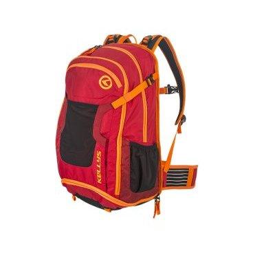 Велосипедный рюкзак KELLYS FETCH 25, 25 л, красный, нейлон/полиэстер