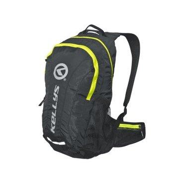 купить Велосипедный рюкзак KELLYS INVADER, 25 л, чёрный/салатовая молния, полиэстер недорого