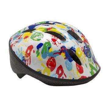 Велошлем детский BELLELLI Ладошки, белый, М (52-57 см), 01HEL051039Велошлемы<br>Лёгкий детский шлем от итальянской марки BELLELLI имеет комфортные мягкие внутренние вставки, которые обеспечивают дополнительную амортизацию между головой и шлемом для большего комфорта. Шлем регулируется с помощью специального механизма, чтобы шлем сидел плотно - никуда не сползал во время движения, никуда не сдвинулся в случае падения.<br><br>Также в шлеме есть специальные отверстия для вентиляции.<br><br>- цвет: белый<br><br>- размер: М (52-57cm)<br><br>- количество отверстий: 6<br><br>- страна бренда: Италия<br>