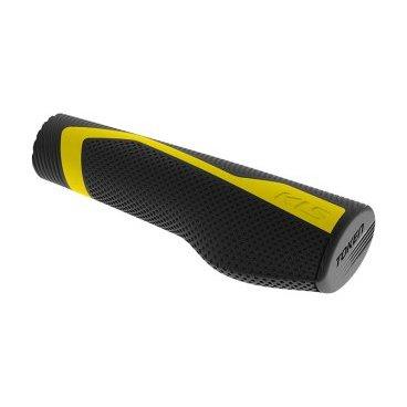 Грипсы KELLYS TOKEN LockOn, 130/135 мм, кратон, желтый