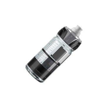Фляга Elite Crystal Ombra, 0.55 л, серый, EL0150123Фляги и Флягодержатели<br>Фляга Elite Crystal Ombra разработана для велогонщиков. Подходит для использования во время соревнований за счёт быстроты и удобства питья.<br><br>Изготовлена из пищевого пластика по технологии K-Resin®. Новая форма крышки с увеличенным отверстием способствует лучшей подаче жидкости и упрощает открытие ртом во время гонки. Предназначена для держателей с диаметром 74 мм.<br>Отличительные особенности<br><br>    Пищевой пластик по технологии K-Resin® с антибактериальными свойствами<br>    Мягкая бутылка позволяет давлением кисти увеличивать поток жидкости<br>    Новая форма крышки с увеличенным отверстием и легким открытием<br>    Широкое горло для удобства наполнения и мытья<br>    Стандартный диаметр 74 мм<br>