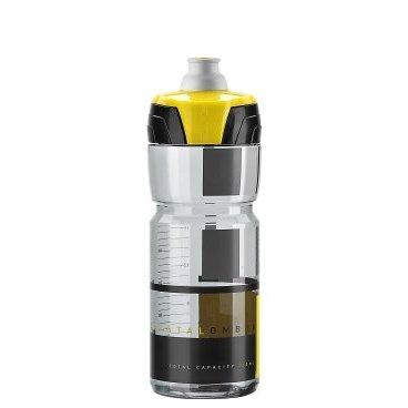 Фляга Elite Crystal Ombra, 0.75 л, дымчатый, желтый рисунок, EL0150512  цена и фото
