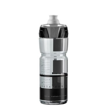 Фляга Elite Crystal Ombra, 0.75 л, дымчатый, серый рисунок, EL0150511  цена и фото