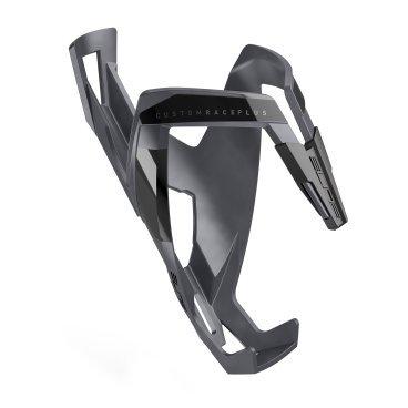 Флягодержатель Elite Custom Race Plus, серый, soft touch, EL0140618