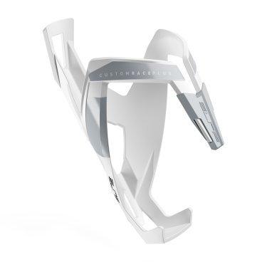 Флягодержатель Elite Custom Race Plus, soft touch, белый, EL0140613 тележка для фляги в твери