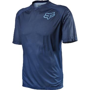Велоджерси Fox Flow SS, синийВелоджерси<br>Джерси с коротким рукавом, разработанное специально для любителей трейлрайдинга и катания в стиле ол-маунтин. Лёгкий синтетический материал хорошо дышит и отводит влагу от тела.<br><br>ОСОБЕННОСТИ<br><br>Материал хорошо дышит и отводит влагу от тела<br>Удлинённая задняя часть хорошо прикрывает поясницу во время езды<br>Оригинальная графика<br>V-образная горловина<br>Карман на молнии<br>Микрофибровый лоскут для протирки очков на внутреннем шве<br>