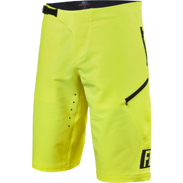 Велошорты Fox Demo Freeride Short, Размер: S (W30), желтый, 16618-130-30