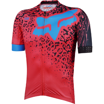 Веломайка Fox Ascent Comp SS Jersey, красная