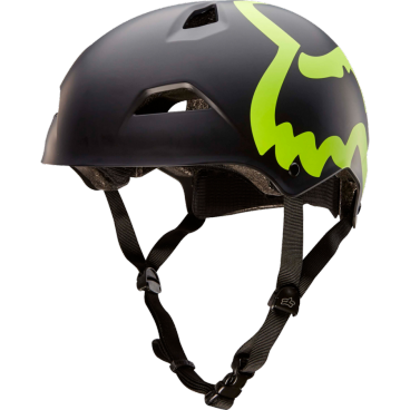 Велошлем Fox Flight Eyecon Hardshell Helmet Flow, черно - желтый