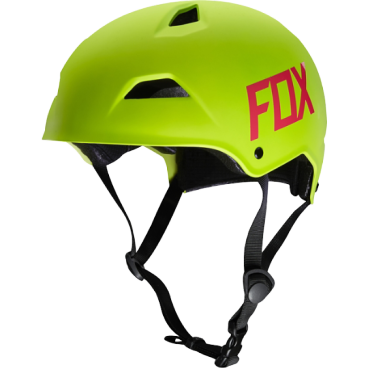 Велошлем Fox Flight Hardshell Helmet Flow, желтый
