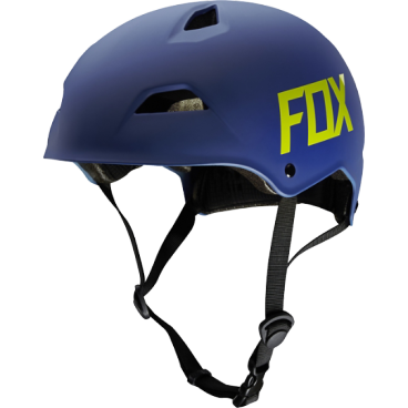 Велошлем Fox Flight Hardshell Helmet, матовый синий