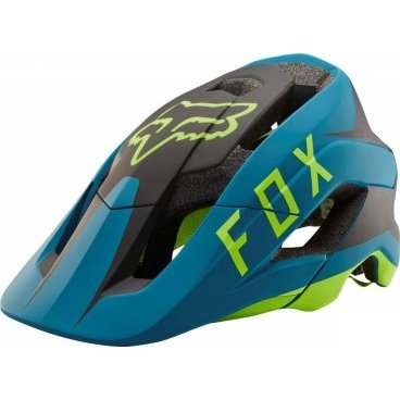 Велошлем Fox Metah Flow Helmet Teal, сине-черный the lieutenant