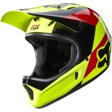 Велошлем Fox Rampage Mako Helmet, желтыйВелошлемы<br>Самый популярный и бюджетный фулл-фейс от Fox – идеальный выбор для начинающих даунхильщиков и фрирайдеров, а также для любителей сэкономить. Как бы то ни было, при своей невысокой цене и малом весе этот шлем обеспечивает более чем эффективную защиту. Корпус шлема выполнен из высококачественного супер легкого стеклопластика, а мягкий внутренник легко отстегнуть для чистки и стирки.<br><br>Особенности:<br>Назначение: фрирайд, даунхилл<br>Отстегивающийся внутренник<br>Обеспечивает надежную защиту и комфорт в течение всего дня<br>Материал корпуса: стеклопластик<br>