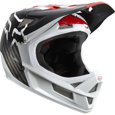 Купить со скидкой Велошлем Fox Rampage Pro Carbon Helmet, белый
