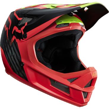 Велошлем Fox Rampage Pro Carbon Helmet, красный споки ноки борт в кроватку с органайзером облака цвет голубой