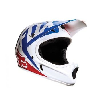 Велошлем Fox Rampage Race Helmet, белый