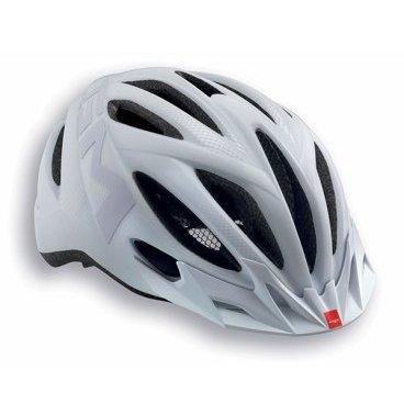 Велошлем MET 20 Miles, матовый белый