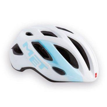 Велошлем MET Idolo, бело-синийВелошлемы<br>Idolo – высококачественный шоссейный шлем за разумные деньги. Он лёгок, удобен, хорошо вентилируется, а, кроме того, выглядит очень стильно и современно. Благодаря фирменной системе застёжек под названием Safe-T его легко подогнать по размеру, и при этом он отлично сидит на голове. А кроме того, здесь имеется интегрированный задний фонарик красного цвета.<br><br><br><br>ОСОБЕННОСТИ<br><br><br><br>Высококачественный шоссейный шлем за разумные деньги<br><br>Лёгок, удобен, хорошо вентилируется<br><br>Фирменная система застёжек под названием Safe-T Advanced<br><br>Стропы застёжек выполнены из сверхлёгкого текстиля<br><br>Интегрированный задний фонарик красного цвета<br>