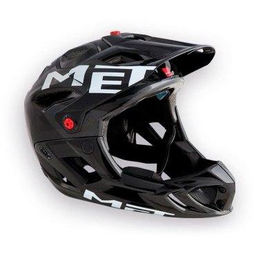 Велошлем MET Parachute, серо-черный